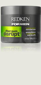 Redken For Men Disrupt Fiber Gum 4 oz