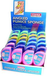 Titania Angeled Pumic Sponges