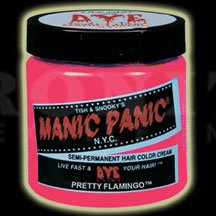 Manic Panic Semi-Permanent Hair Color Cream in Pretty Flamingo