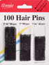 Annie 100 Hair Pins 3 sizes