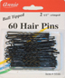 Annie 60 Hair Pins Black