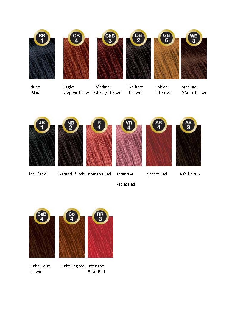 bigen beauty supplies and hair care s miracle mile - Bigen Hair Color Chart