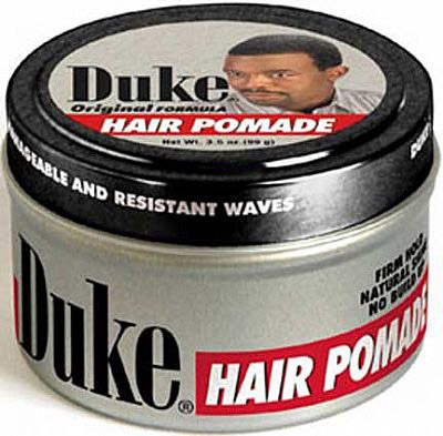 Duke Original Formula Gel Pomade. Formulated for short wavy hairstyles.
