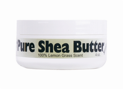 100% Pure Shea Butter 100% Lemon Grass Scent 4 oz