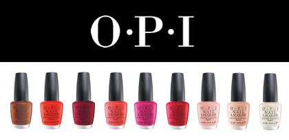 O.P.I Nail Polish Alphabetical