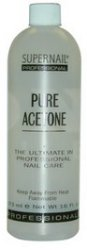 Supernail Pure Acetone Polish Remover 8 oz
